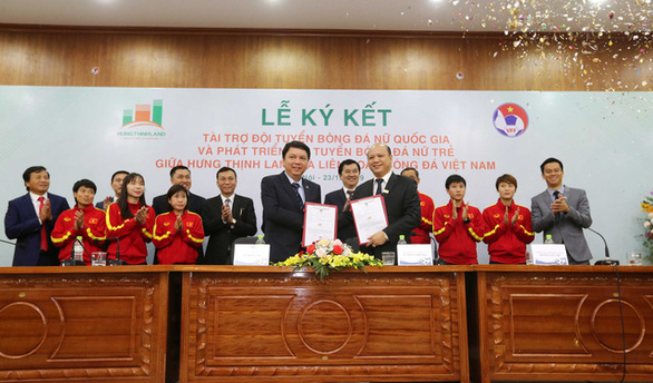 Hung Thinh Land provides $4.3mn sponsorship to help Vietnam realize FIFA Women's World Cup dream