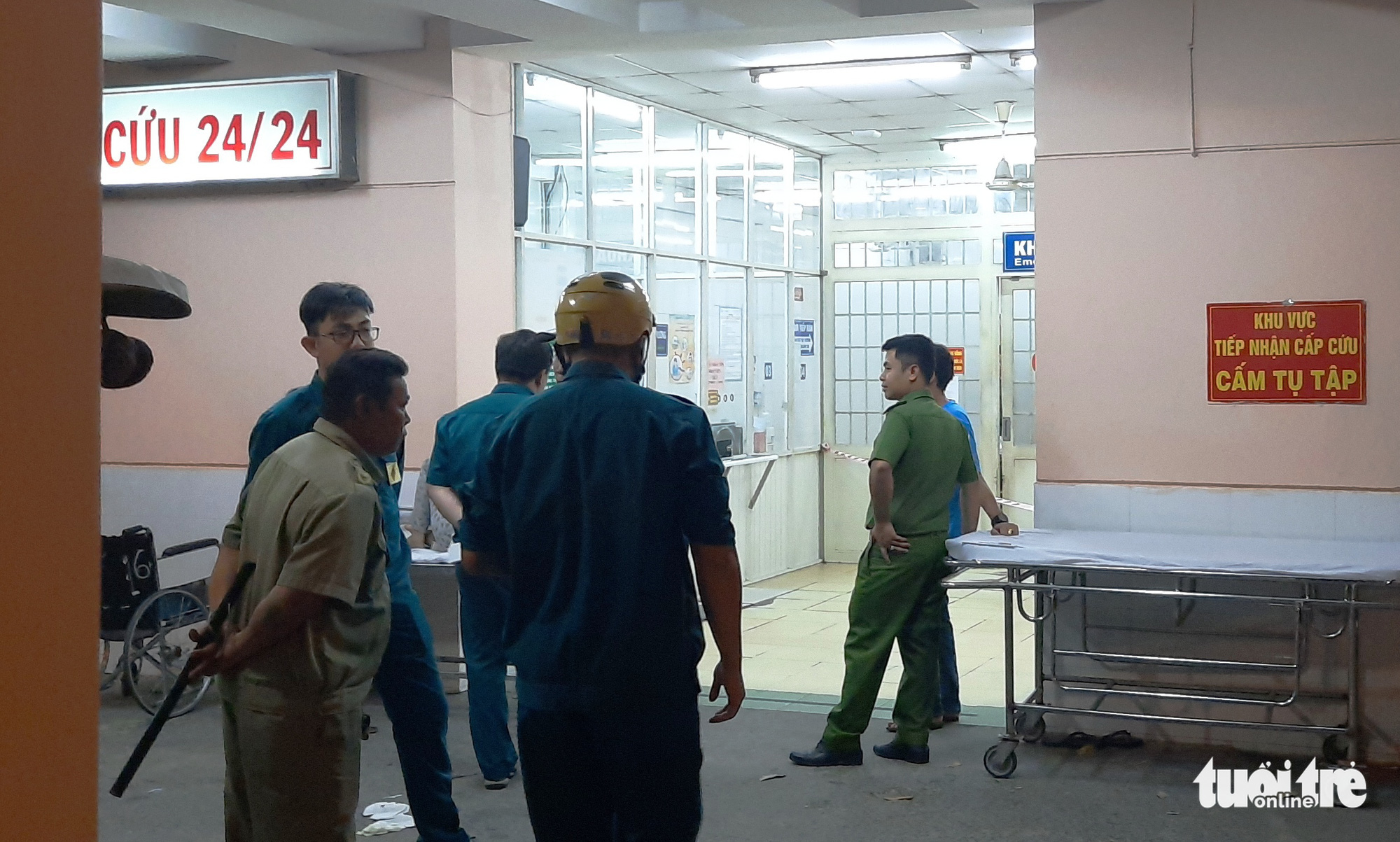 Man attempts suicide by gunshot to head following hospital admission in Ho Chi Minh City
