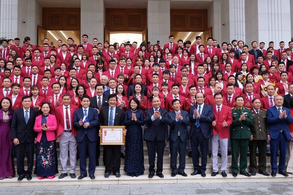 PM lauds Vietnam delegation's SEA Games 2019 accomplishments at Hanoi reception