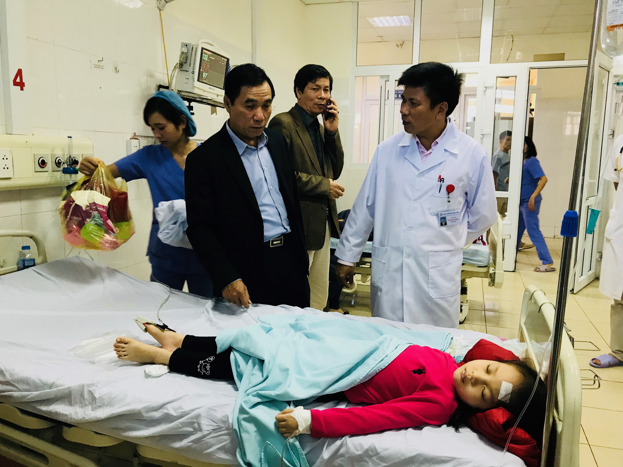 130 kindergarteners hospitalized for suspected food poisoning in Vietnam