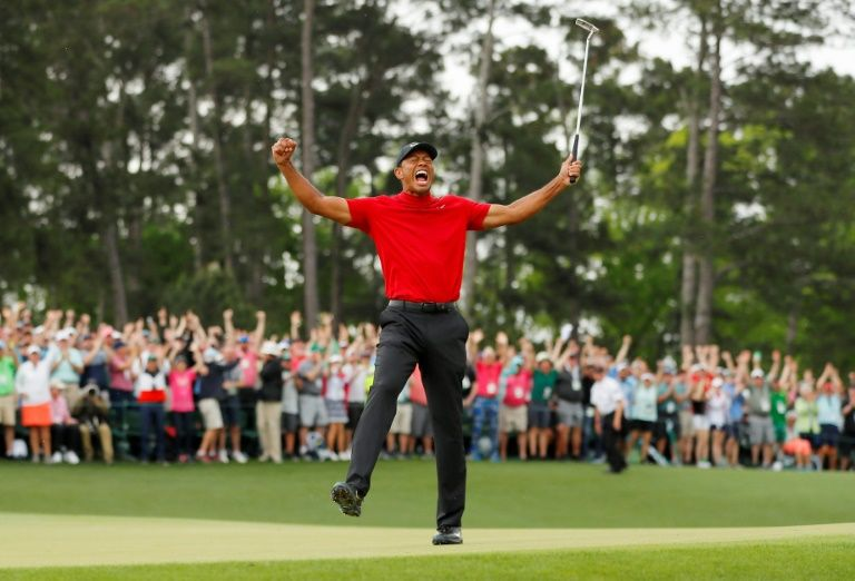 After more than a decade, Tiger Woods roared again at Augusta.