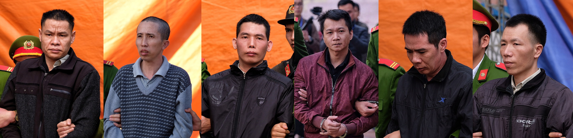 6 men sentenced to death for kidnapping, gang raping, murdering Vietnamese college student