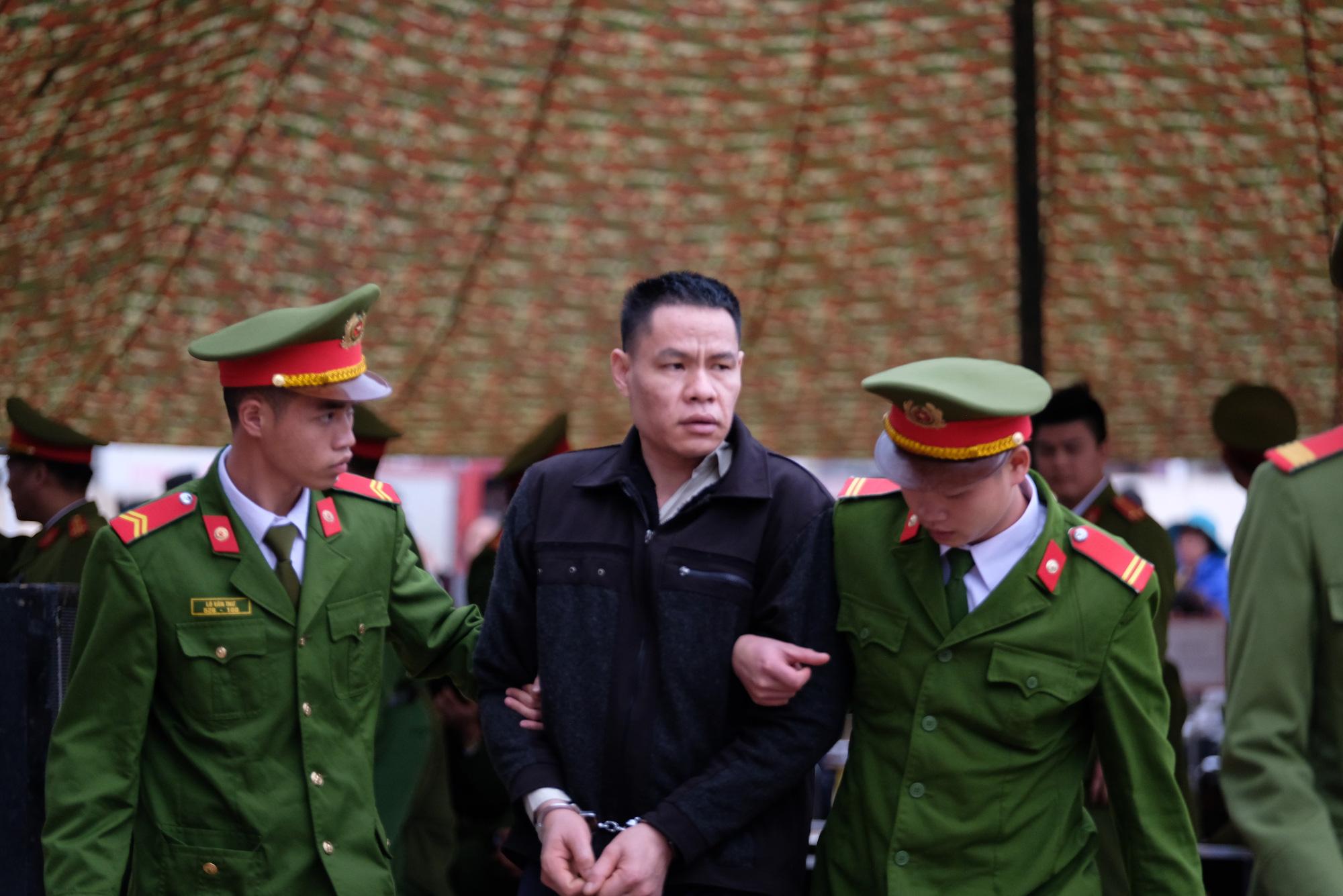 Vi Van Toan at the trial in Dien Bien Province on December 29, 2019. Photo: Nam Tran / Tuoi Tre