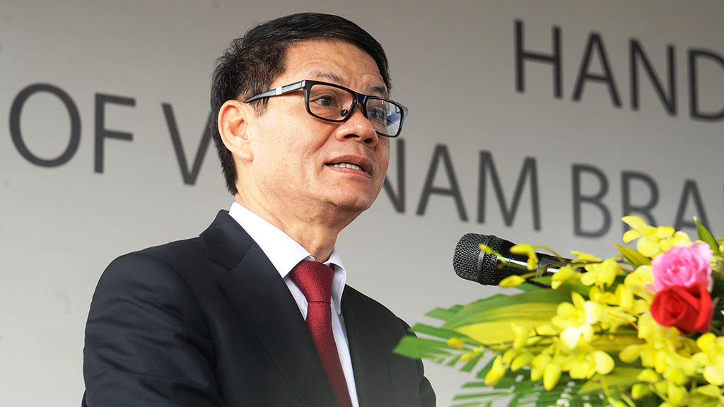 Tran Ba Duong, chairman of Thaco's managing board. Photo: Tuoi Tre