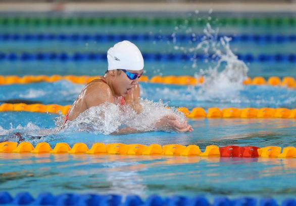Vietnam's swimmer Nguyen Thi Anh Vien. Photo: Minh Minh / Tuoi Tre