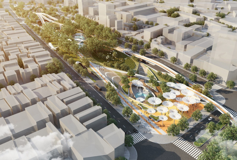 Ho Chi Minh City downtown park renovation wins Future Project of the Year
