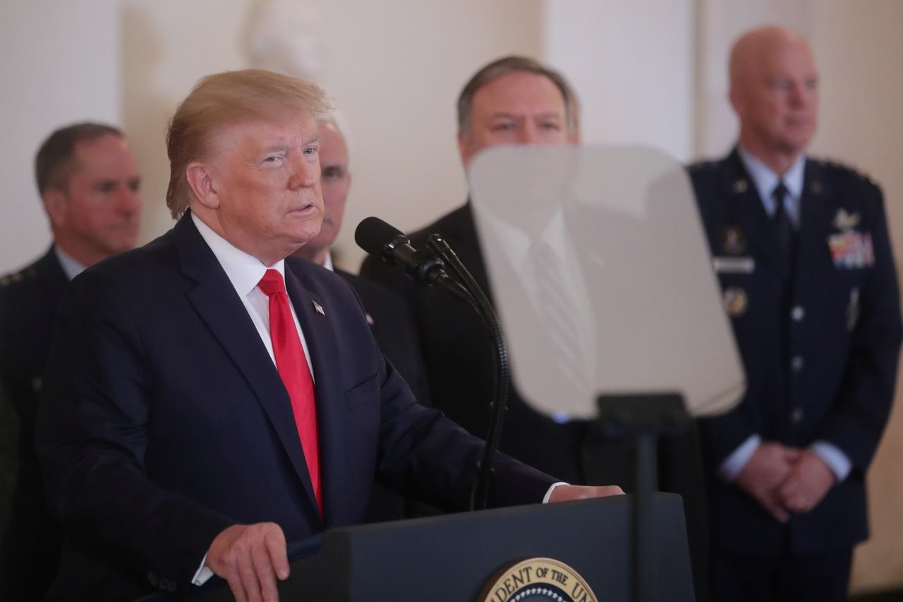 After close brush with Iran, Trump finds an off-ramp - for now