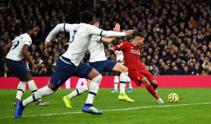 Liverpool go 16 points clear as Firmino nets winner at Spurs