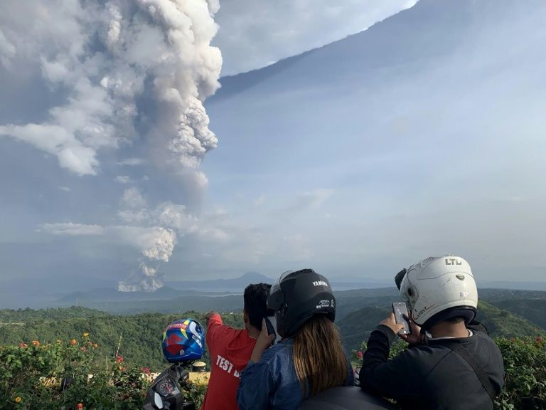 Flights halted, evacuations as Philippine volcano spews ash