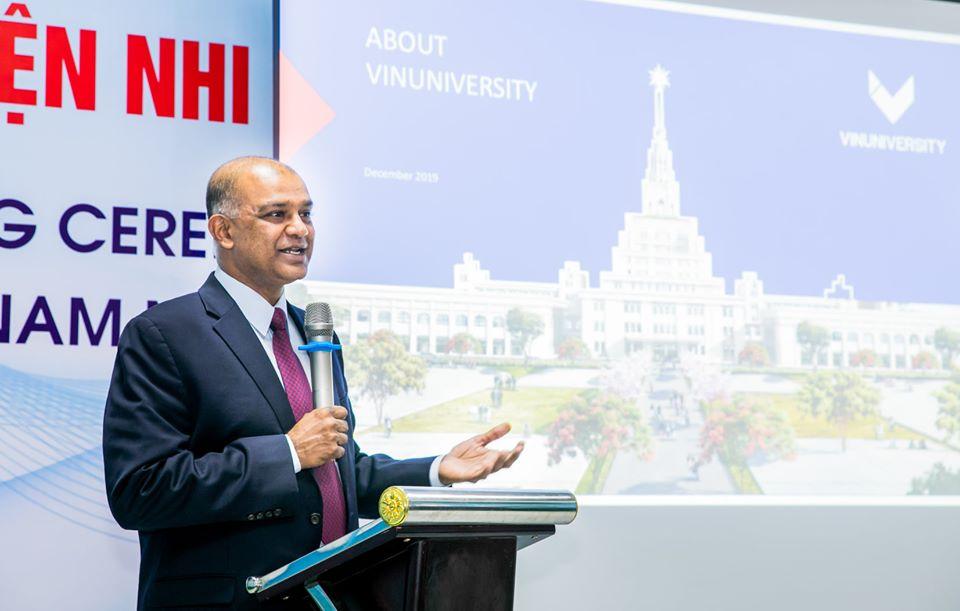 Prof. Rohit Verma. Photo: Vingroup