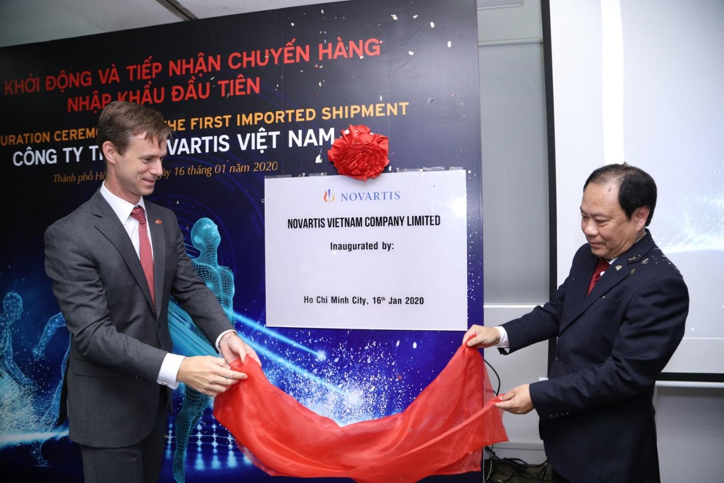 Novartis announces first import shipment, marks important milestone in transformation