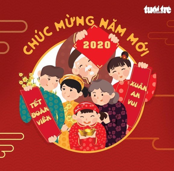 Happy Lunar New Year from Vietnam!