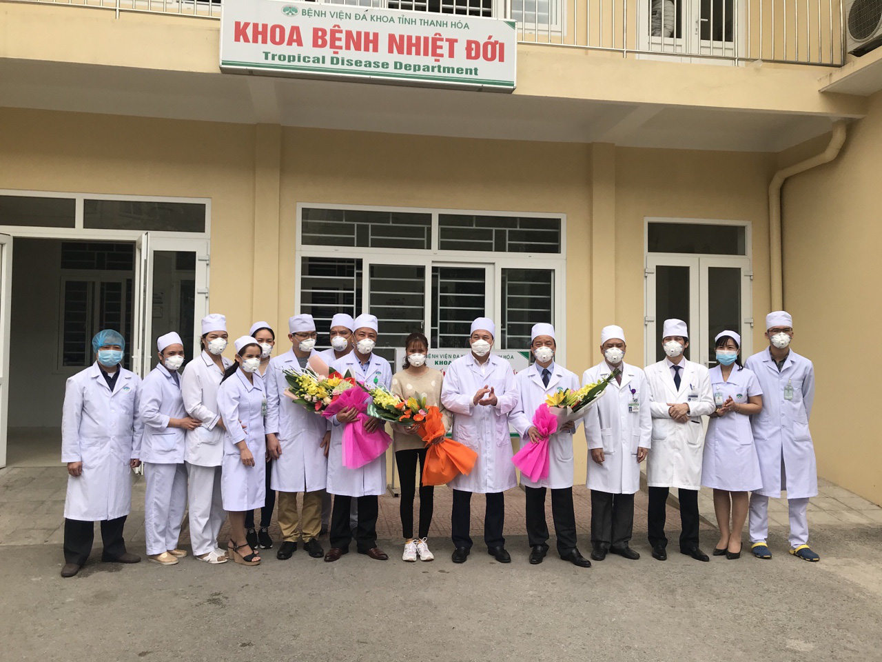 Woman becomes second patient cured of new coronavirus-caused pneumonia in Vietnam