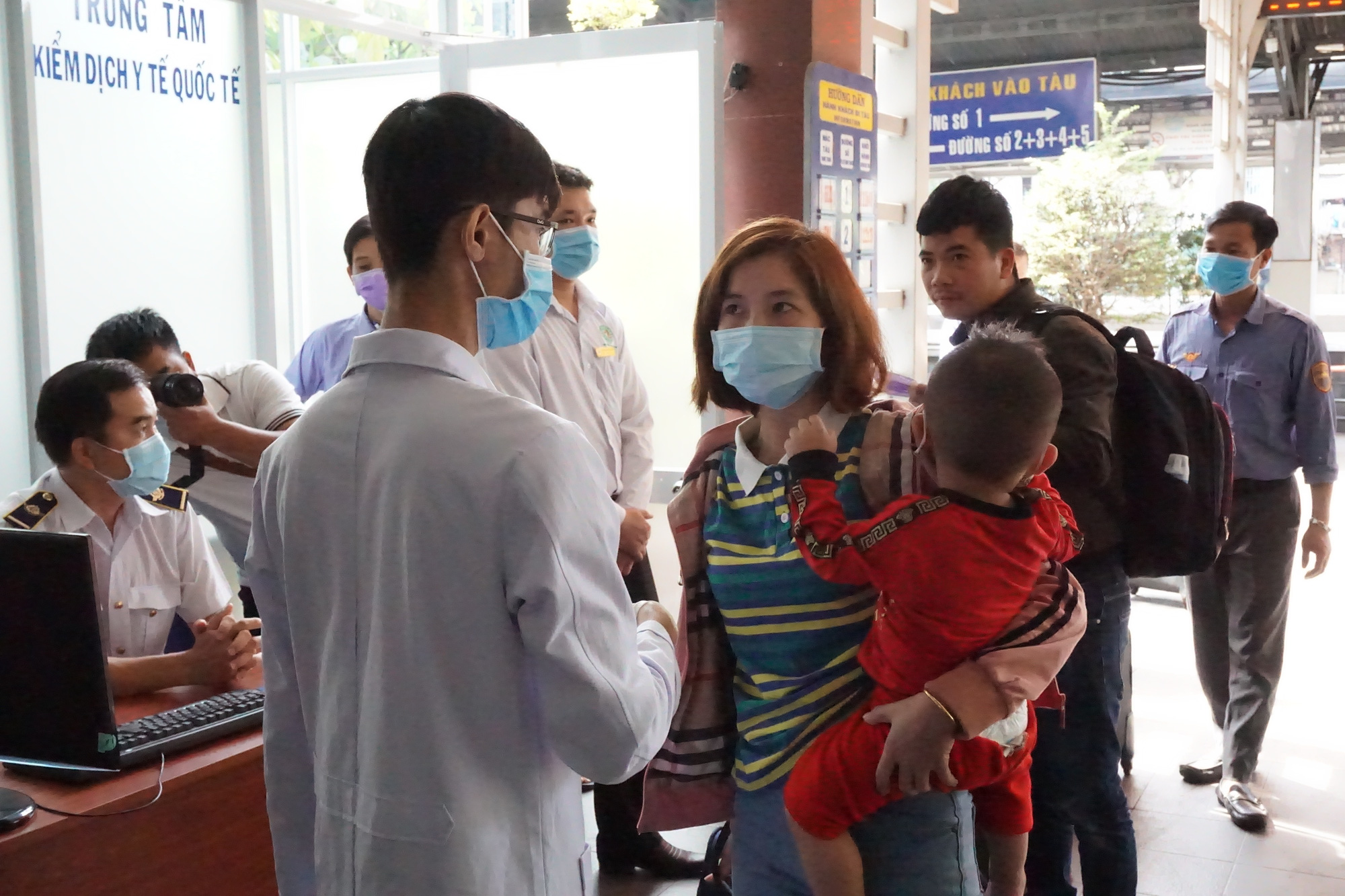 Saigon rail begins passenger temperature check as coronavirus death toll surpasses 630