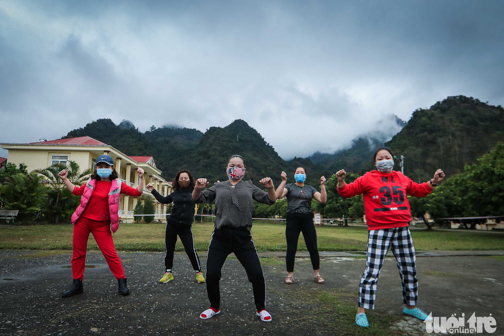 Dancing the day away in Vietnam's novel coronavirus quarantine camps