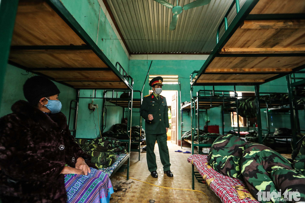 Inside a bunk-bed room at the Military School of Lao Cai Province in northern Vietnam. Photo: Nguyen Khanh / Tuoi Tre
