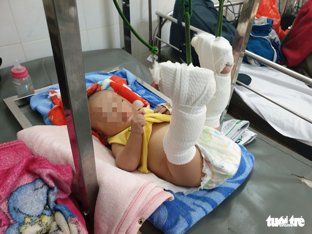 Man arrested, probed for beating up 4-month-old son in Ho Chi Minh City
