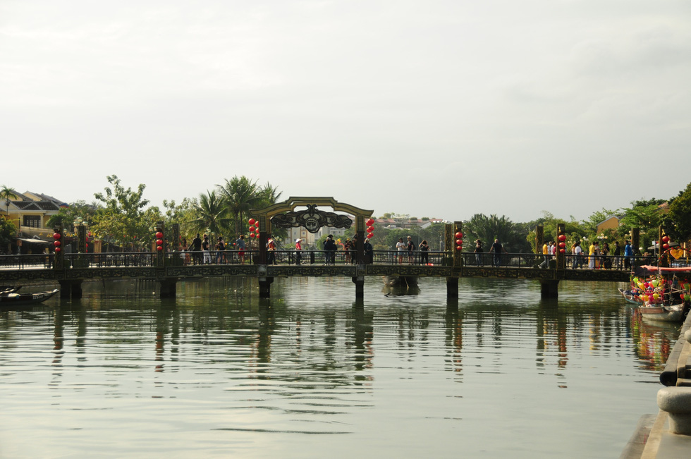 The An Hoi Bridge in Hoi An Ancient Town, located in the central province of Quang Nam, is captured in February 2020. Photo: B.D. / Tuoi Tre