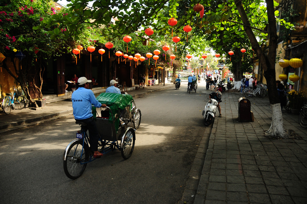 A street in Hoi An Ancient Town, located in the central province of Quang Nam, is captured in February 2020. Photo: B.D. / Tuoi Tre