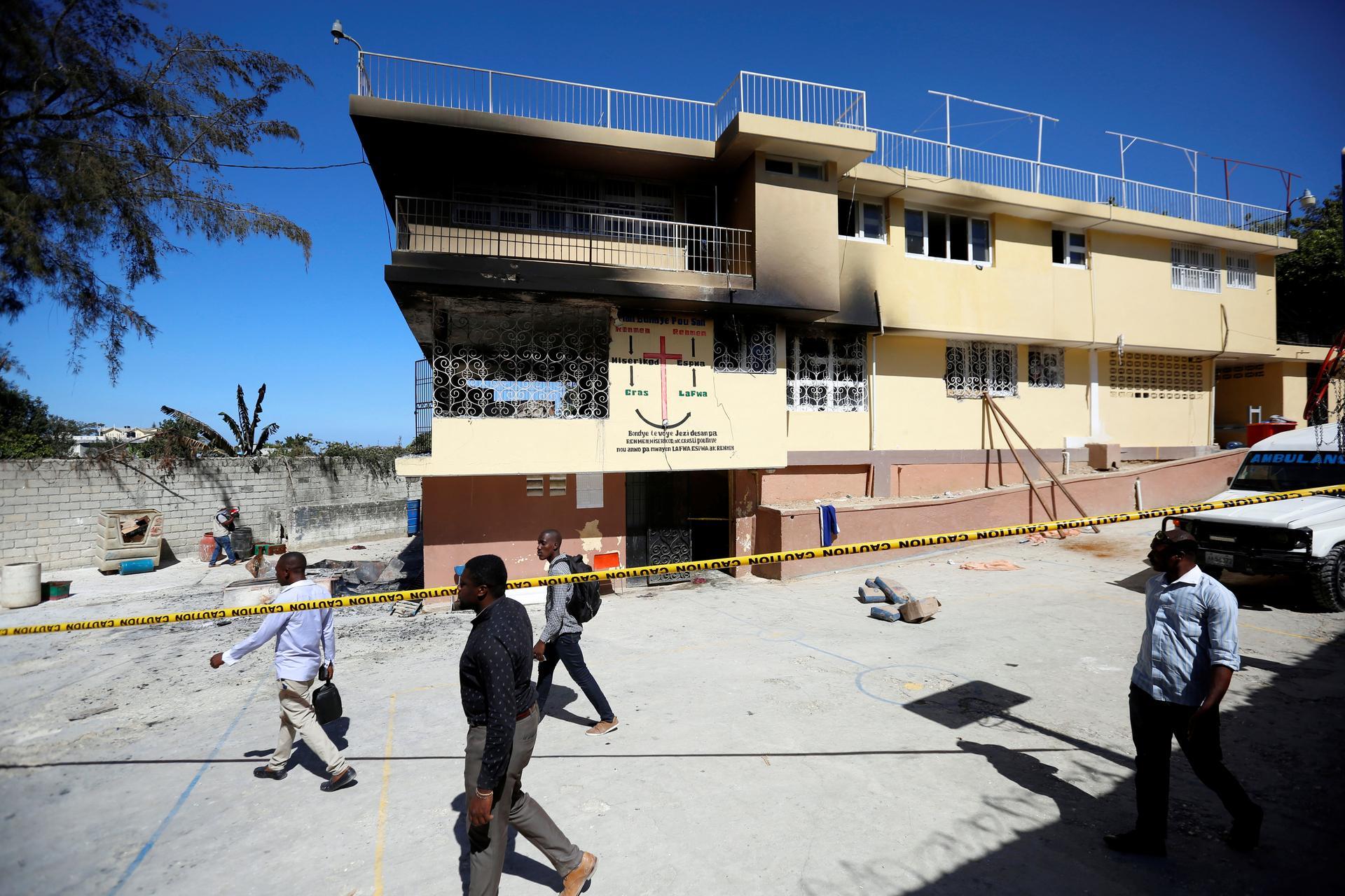 Haiti orphanage fire kills 15, renews debate over unlicensed orphanages