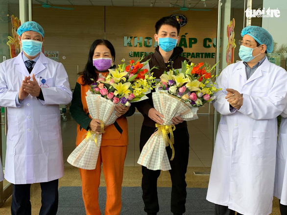 Four more COVID-19 patients discharged from Vietnam hospitals
