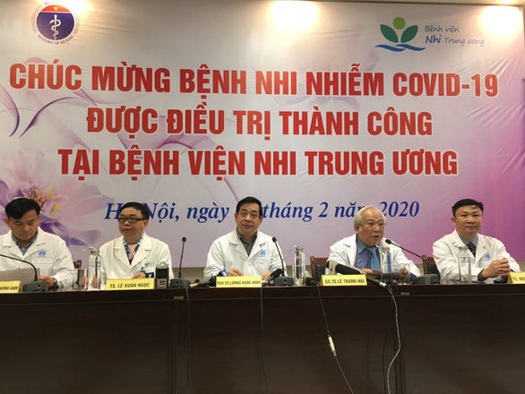 Vietnam's youngest COVID-19 patient, a 3-month-old infant, released from hospital