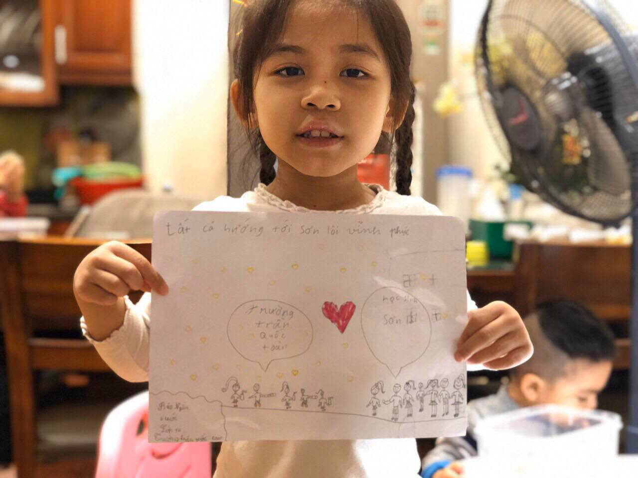 'Hang in there': Hanoi first graders pen heartfelt letters to peers in COVID-19 epicenter