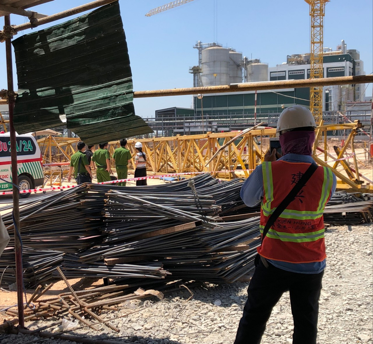 Workers killed as construction crane collapses in southern Vietnam