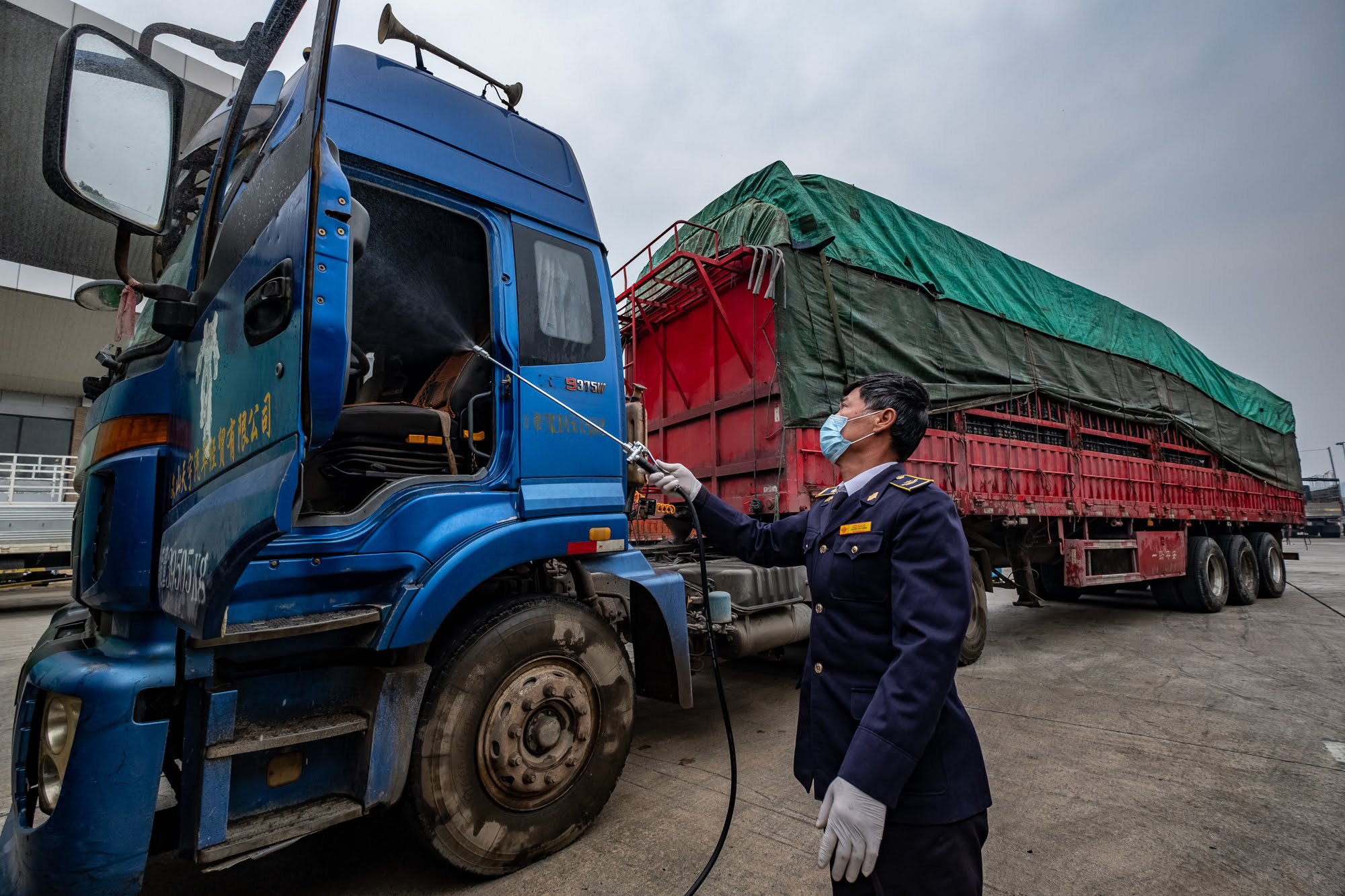 Special team of drivers formed to cope with COVID-19 epidemic at Vietnam-China border gates