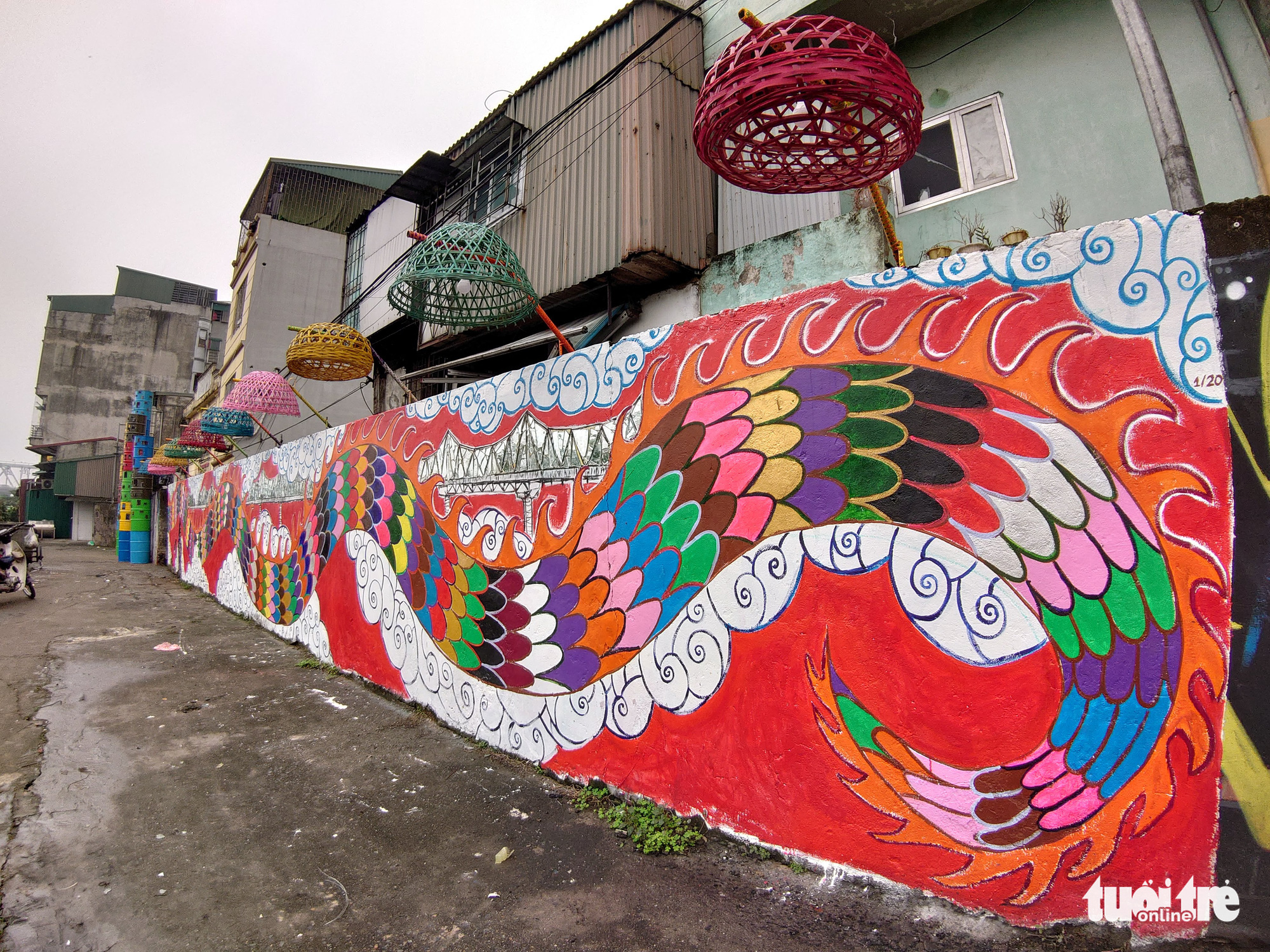 A walk to relive Hanoi's history in landfill-turned-art space
