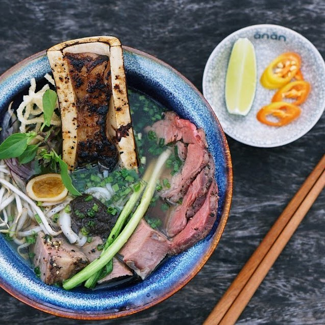 A promo photo of 'Special pho' posted on Anan Saigon's Facebook page