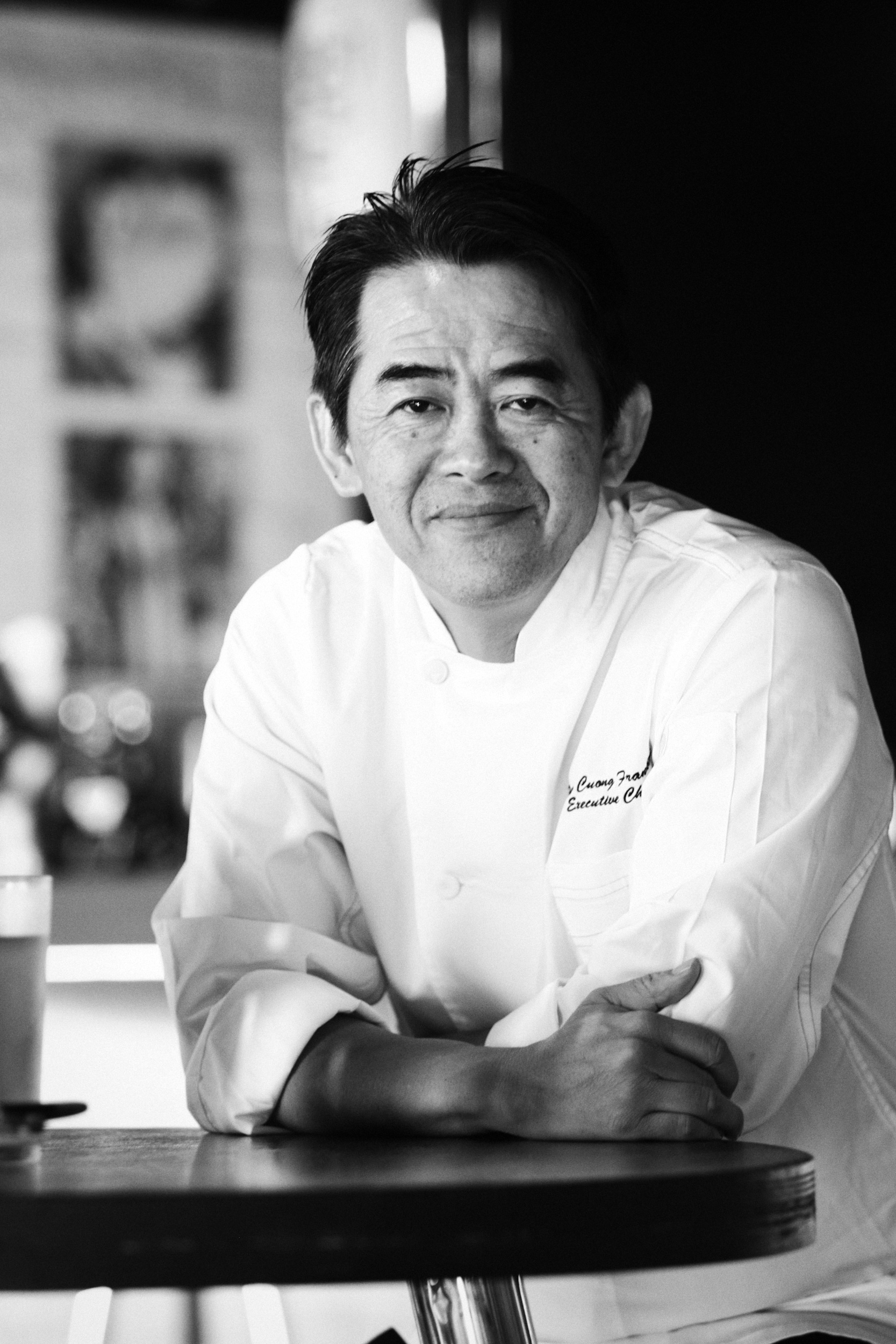 Vietnamese - American chef Peter Cuong Franklin is seen in a photo he provided Tuoi Tre News