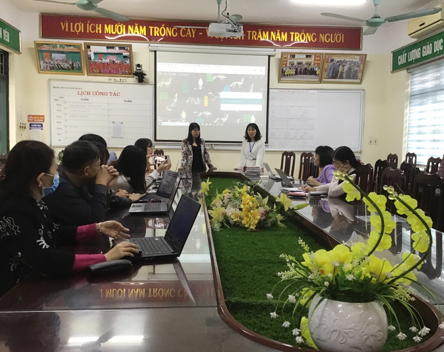 UNIS Hanoi's distance learning lessons go global