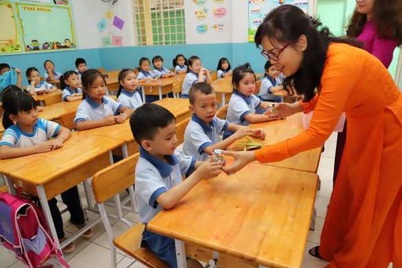 Ho Chi Minh City decides two back-to-school dates for K-12 students