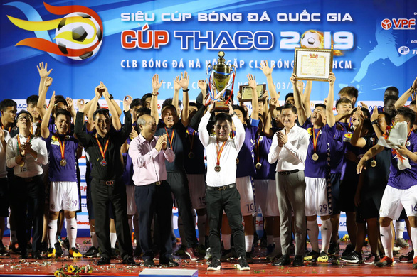Hanoi FC win Vietnamese National Football Super Cup for 3rd time
