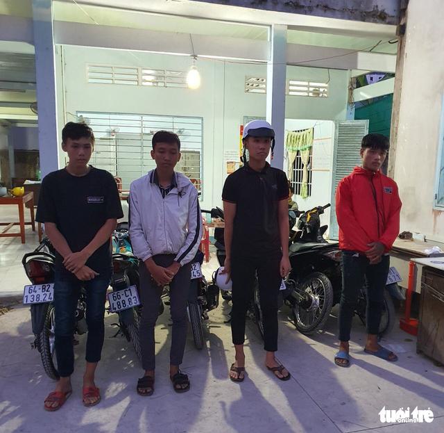Police nab 16 armed street racers in Vietnam's Mekong Delta