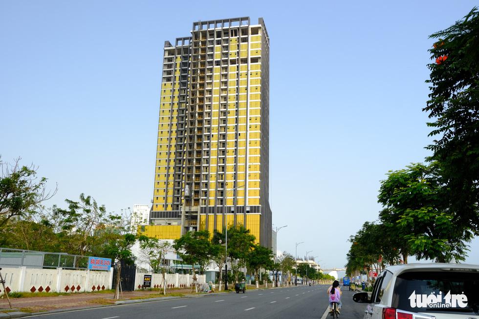 The Risemount Apartment Da Nang on Nhu Nguyet Street, Hai Chau District, Da Nang. Photo: Tan Luc / Tuoi Tre