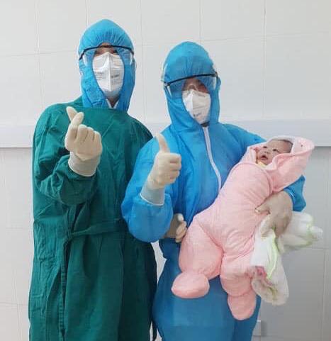Girl born inside Hanoi's COVID-19 quarantinezone