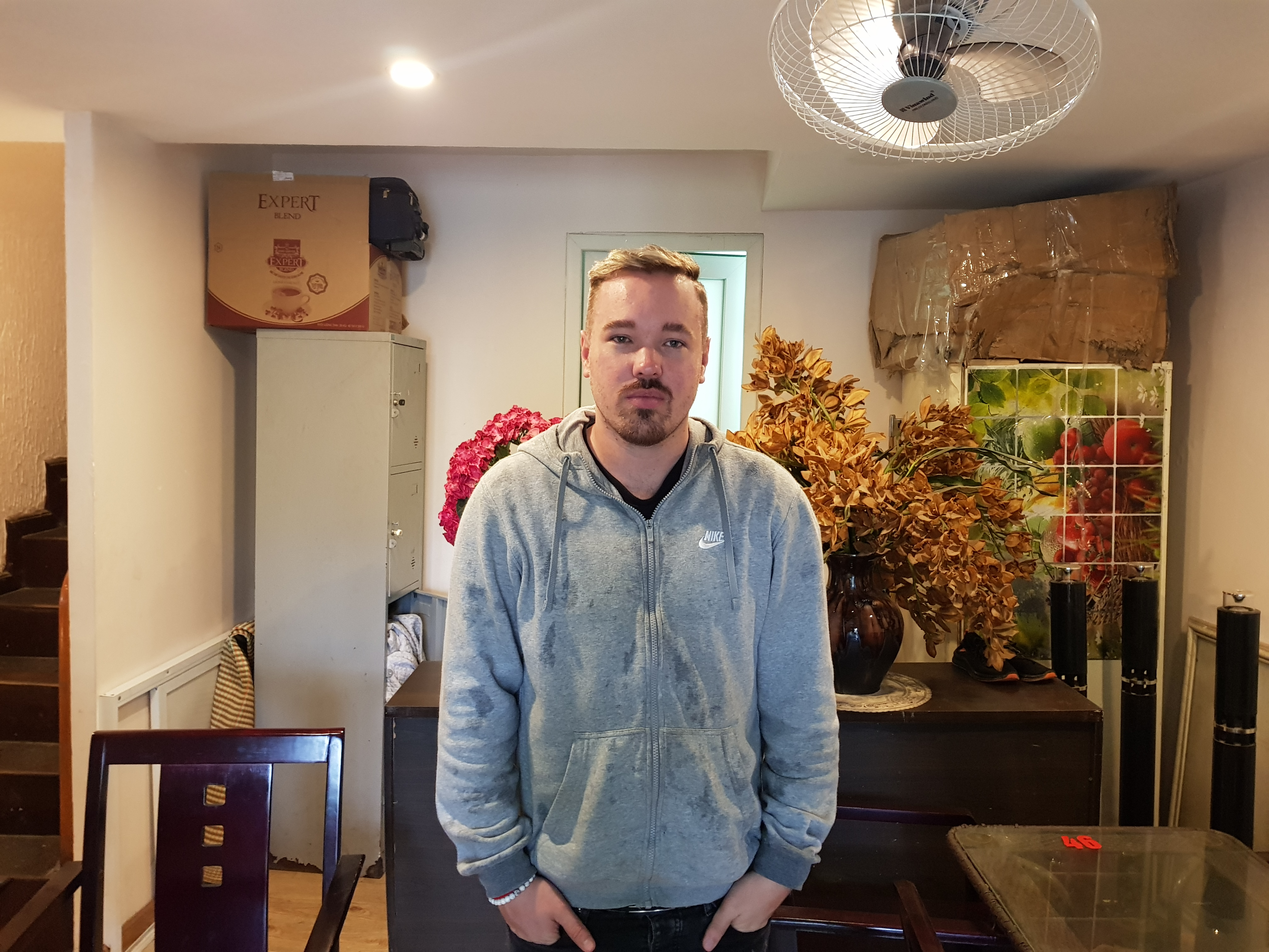 British Richard Bradshaw-Booth founder of the Hanoi Mental Health Support Group, is seen in this provided photo.