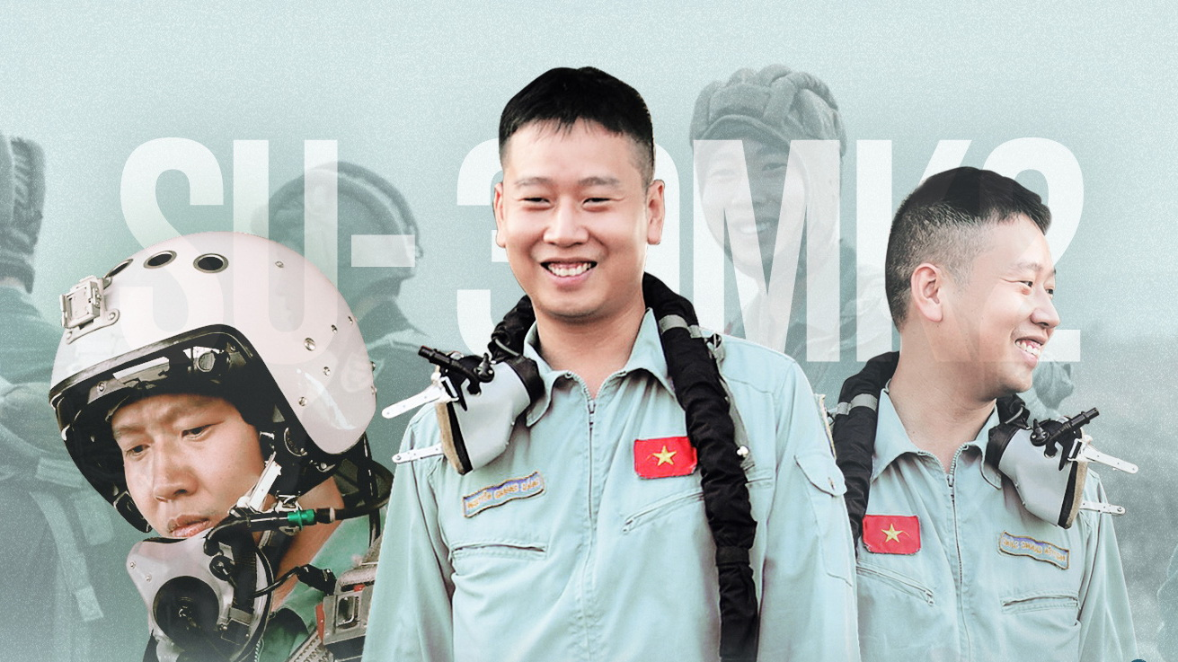 One of Vietnam's youngest Su-30MK2 fighter pilots ready to sacrifice for country