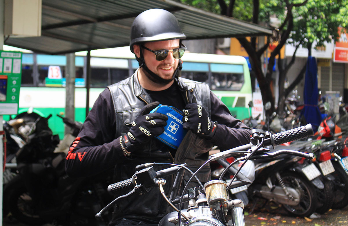 Canadian 'first-aid' man helps the have-nots around Ho Chi Minh City