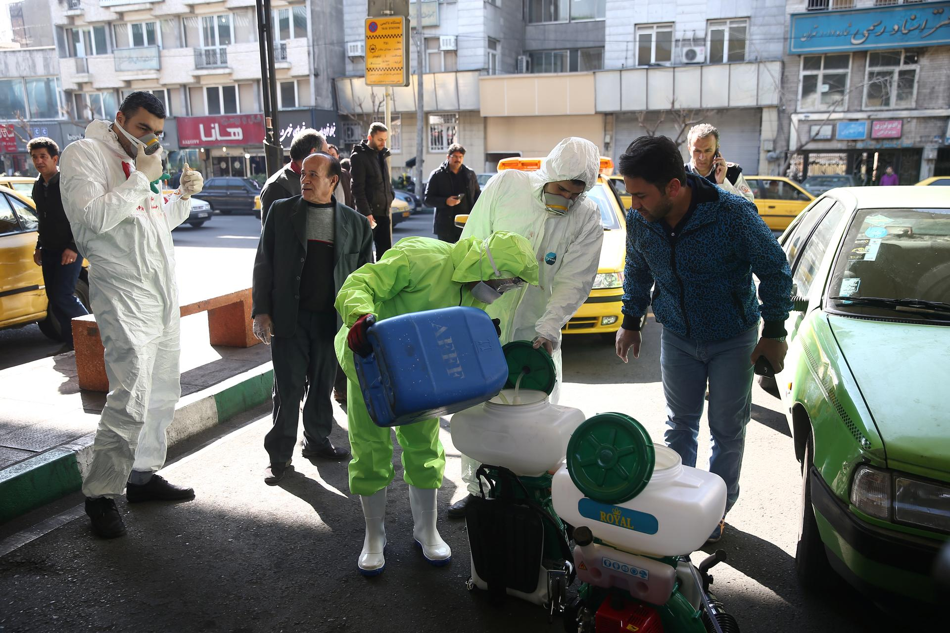 Iran's death toll from coronavirus reaches 724, says health official