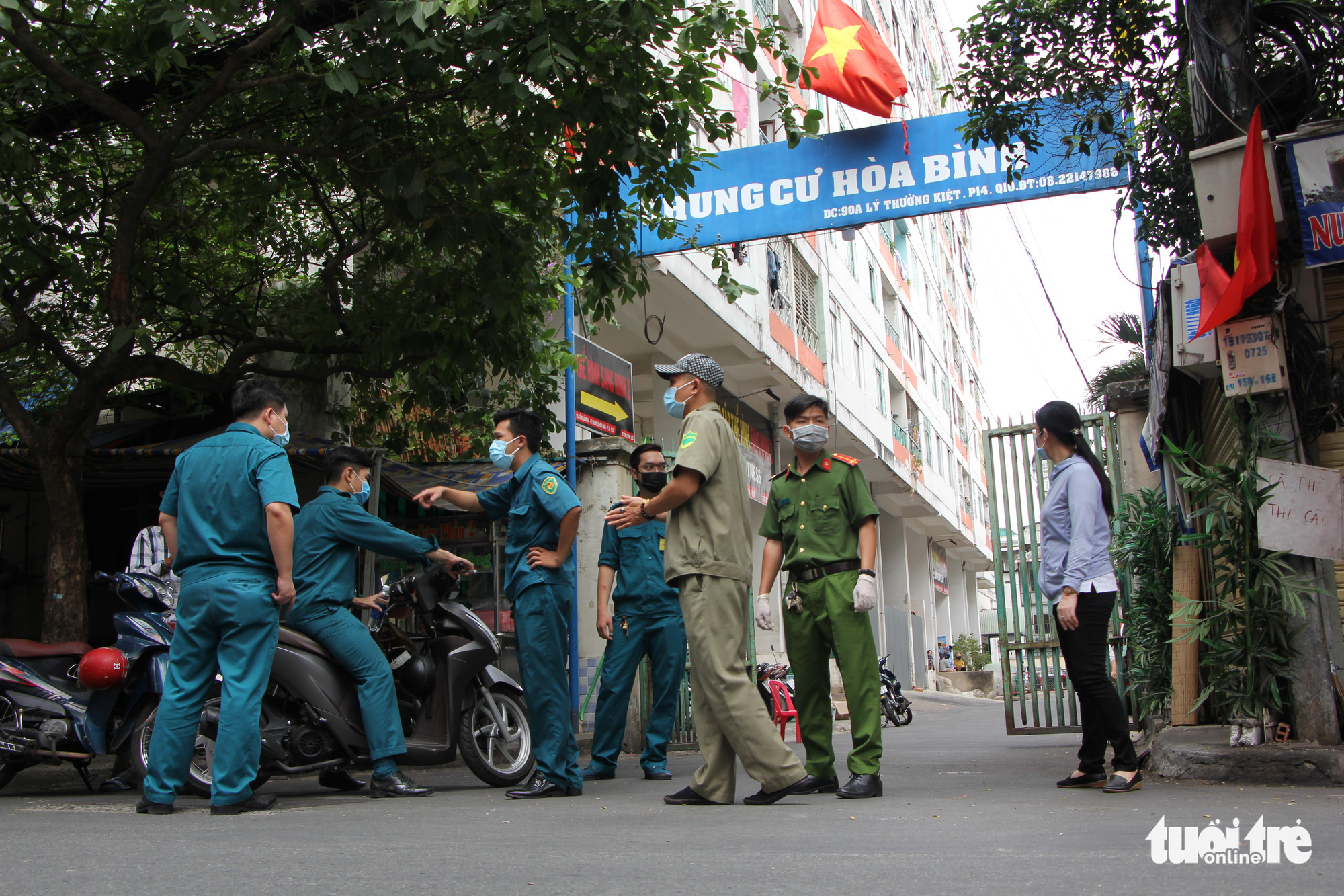 Ho Chi Minh City apartment building locked down after resident tests positive for COVID-19