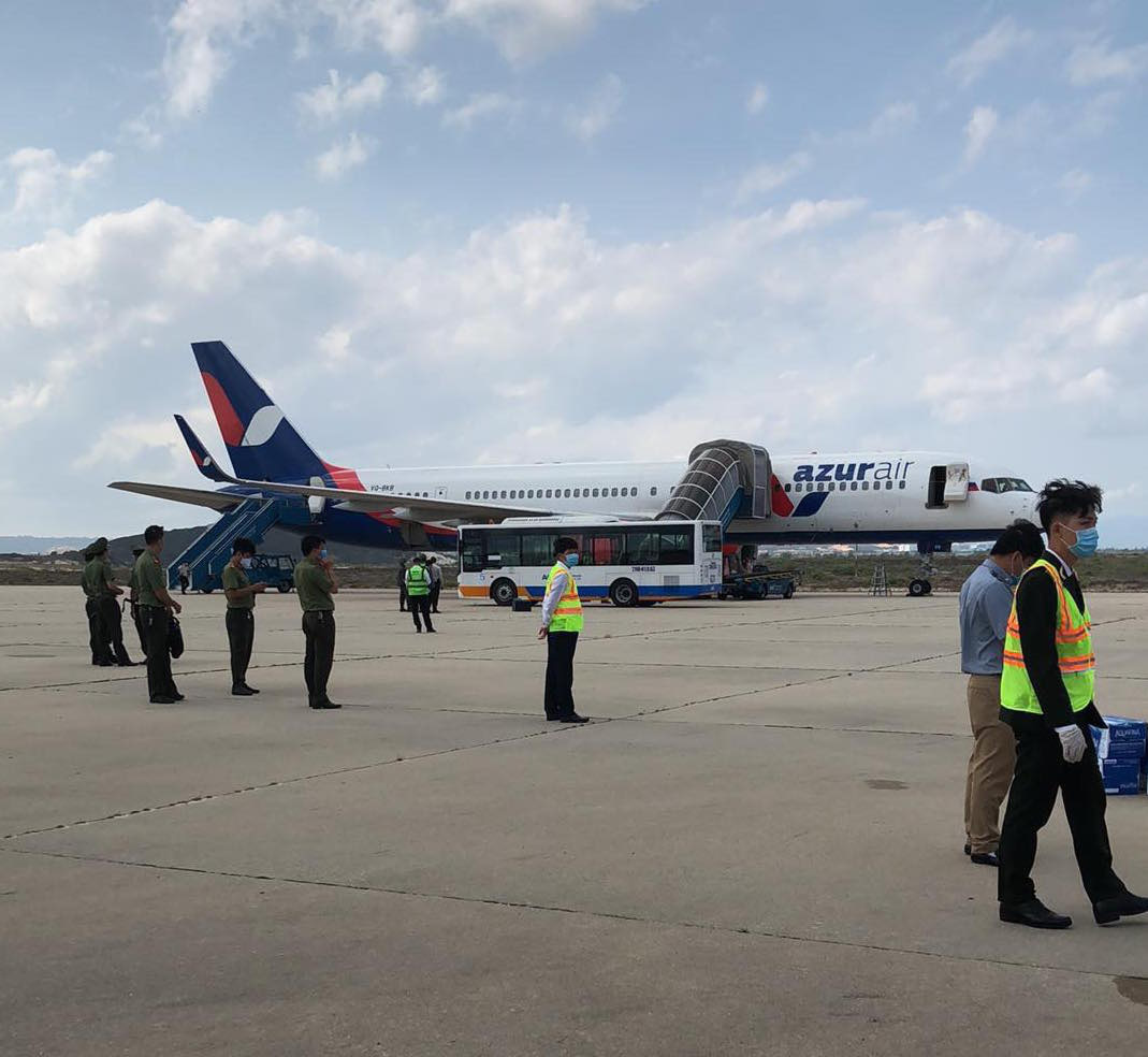 Bomb 'joke' causes evacuation of Russian aircraft in Vietnam