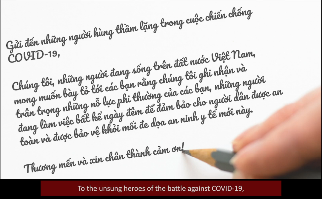 WHO thanks unsung heroes of fight against COVID-19 in Vietnam