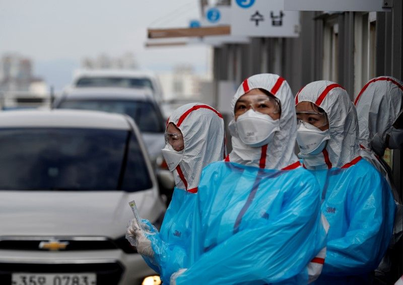 South Korea reports fewest new coronavirus cases since February 29 peak