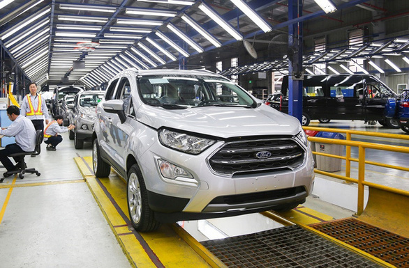 Ford suspends production in Vietnam due to COVID-19