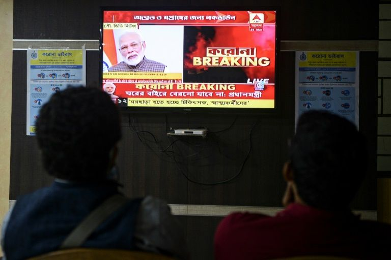 Indian Prime Minister Narendra Modi has described the harassment of coronavirus frontline medical workers as a 'huge issue.' Photo: AFP