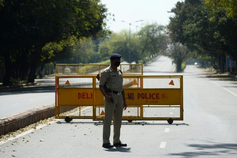Reports of attacks and abuse of India's frontline health and transportation workers have increased with the imposition of a 21-day nationwide lockdown. Photo: AFP