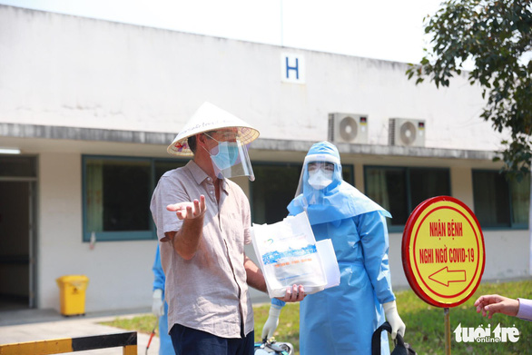 British COVID-19 patient discharged from hospital in Hue